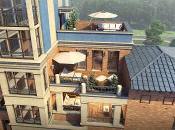 Квартиры с террасами